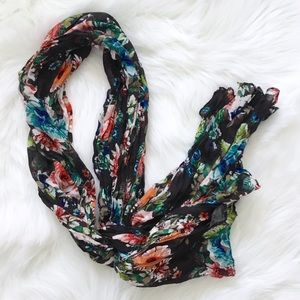 H & M Floral Multi-way Scarf